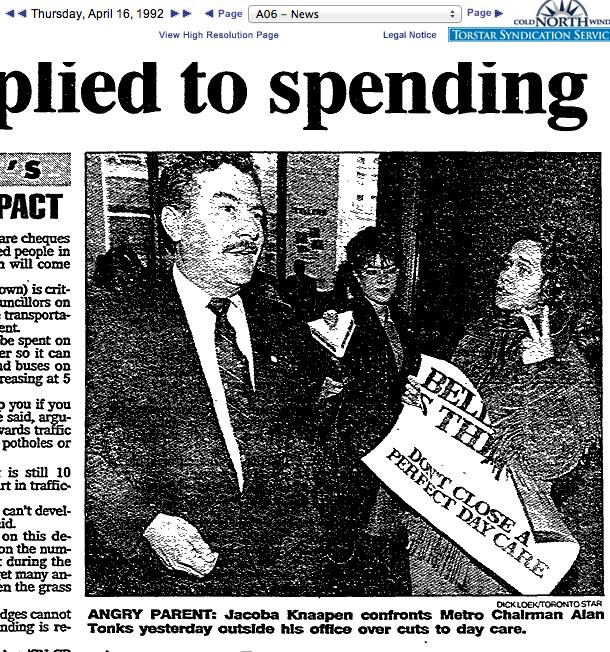 Bellevue Cuts 1992