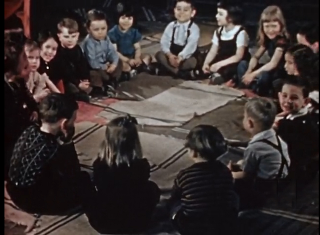 Circle Time at 95 Bellevue in 1943