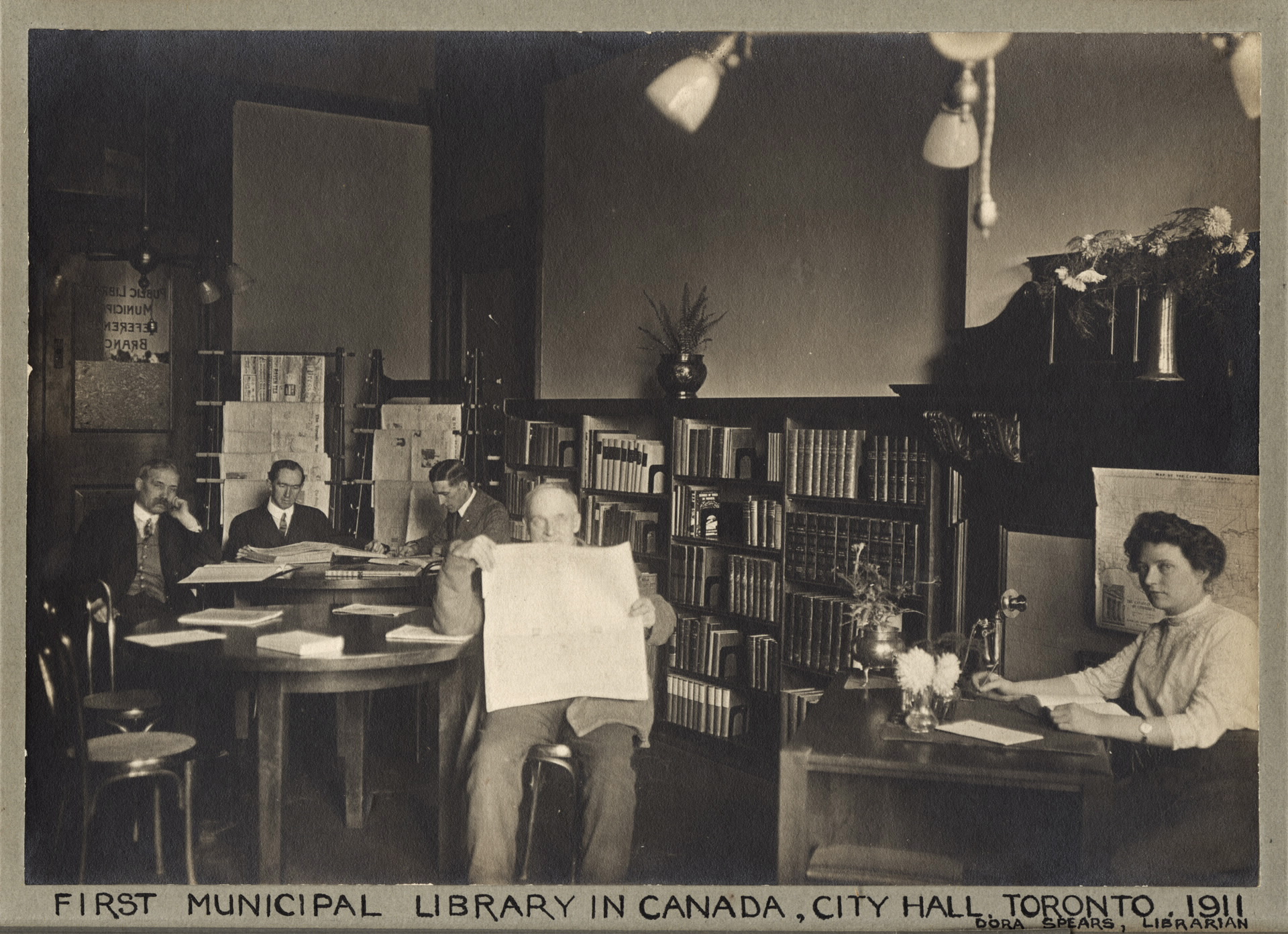 First Municipal Library in Canada_Urban Affairs